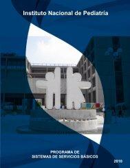 Programa de Sistemas de Servicios Básicos - Instituto Nacional de ...