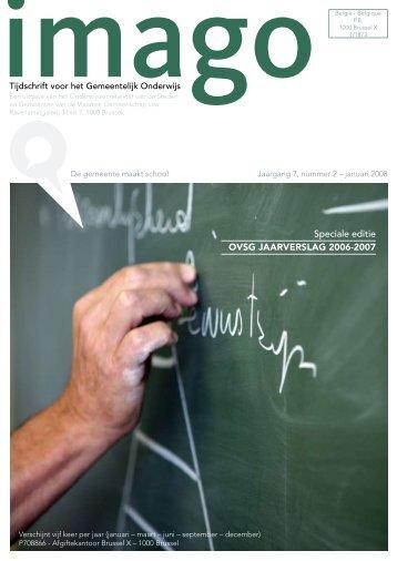 Speciale editie OVSG JAARVERSLAG 2006-2007