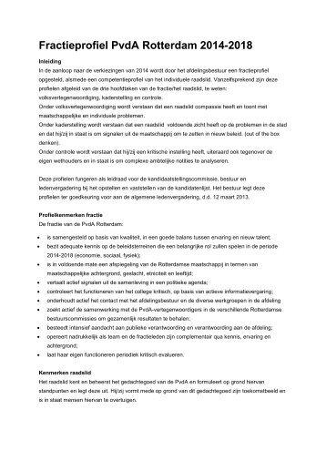 vergaderstuk 12 maart fractieprofiel pvda rotterdam 2014.pdf