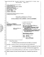Case 8:10-bk-24771-RK Doc 759 Filed 10/31/11 Entered 10/31/11 ...