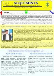 Alquimista nº 10 - Instituto de Química - USP