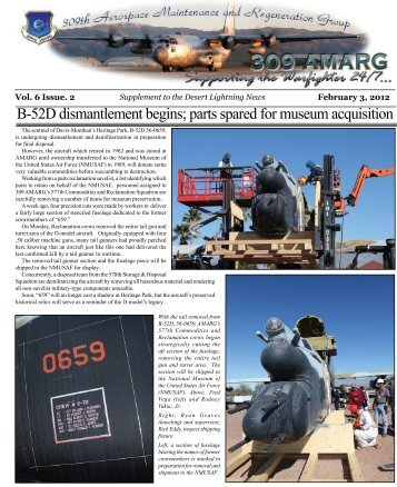 February Supplement - Davis-Monthan Air Force Base