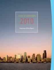 2010 Office Report - Downtown Seattle Association
