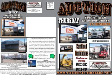Auction 3-17-2011 - United Auctioneers