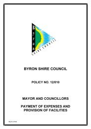 Mayor and Councillors Payment of Expenses and Provision