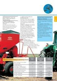 Reduzierte Bodenbearbeitung mit gleichzeitiger Aussaat
