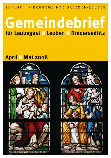 Gemeindebrief April/Mai 2008 - Ev.