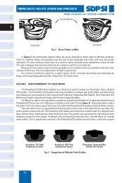 Courroie trap/ézo/ïdale 10/x 775/Li DIN 2215/en V Belt