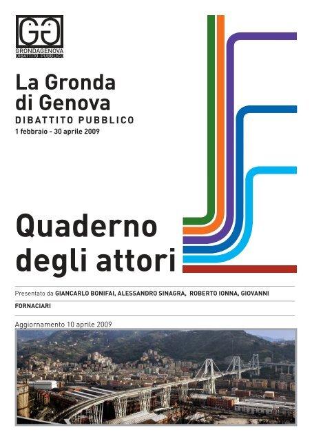 Quaderno inviato da Giancarlo Bonifai, Alessandro ... - Urban Center