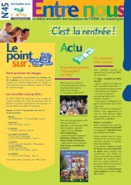 Entre nous n° 45 - septembre 2005 - Grand Lyon Habitat