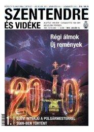 2009-ben történt - Szentendrei Hírek