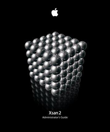 Xsan 2 Administrator's Guide - Apple