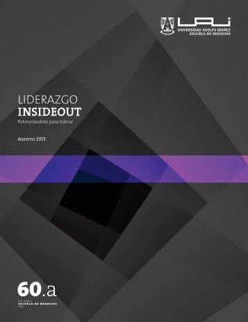 LIDERAZGO INSIDEOUT - Universidad Adolfo Ibañez