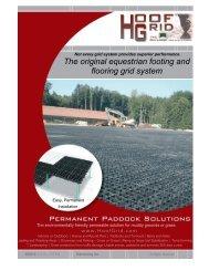 HoofGrid 4 page brochure , full color - Eco-Terr Distributing ...