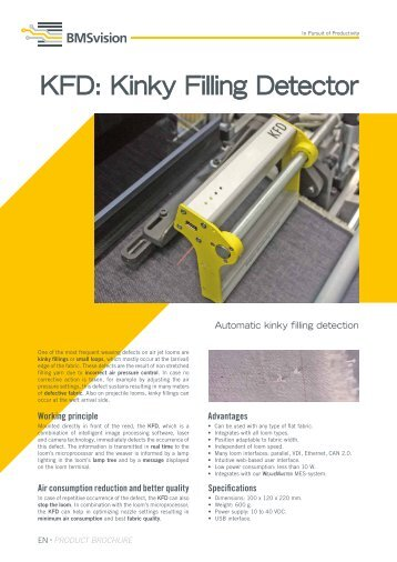 Kinky Filling Detector