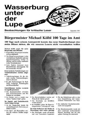 Lupe, September 2002, Bürgermeister Michael ... - SPD-Wasserburg