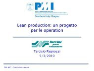 Istituzionale Chapter - PMI-NIC