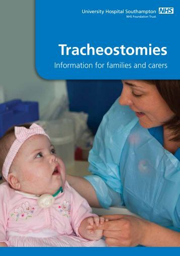 tracheostomy care for patients and family Demonstrate to family and other caregivers on all guidelines of tracheostomy care for the child which includes site assessment, suctioning techniques, site care, tracheostomy changes, and.