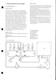 1. Beschreibung der Anlage - Bosch Automotive Tradition
