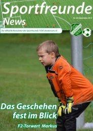 Sportfreunde-News Nr. 42 - September 2012