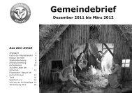 Gemeindebrief 11-2011