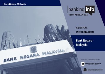Download the booklet on Bank Negara Malaysia - InsuranceInfo