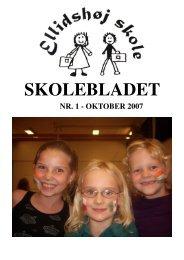 Skoleblad oktober 2007 hjemmeside - Ellidshøj Skole
