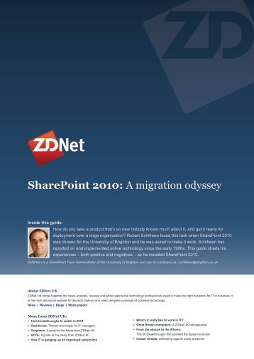 SharePoint 2010: A migration odyssey - CBS Interactive UK