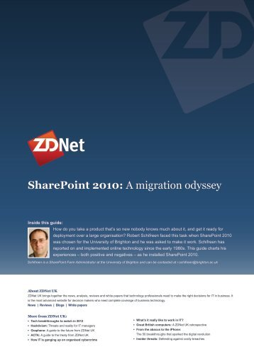 SharePoint 2010: A migration odyssey - CBS Interactive UK
