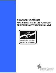 guide des procédures administratives et des politiques du cours ...