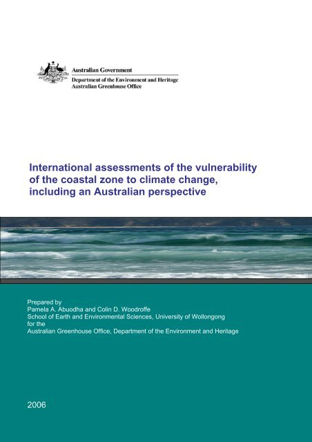 International assessments of the vulnerability.pdf - Climate ...