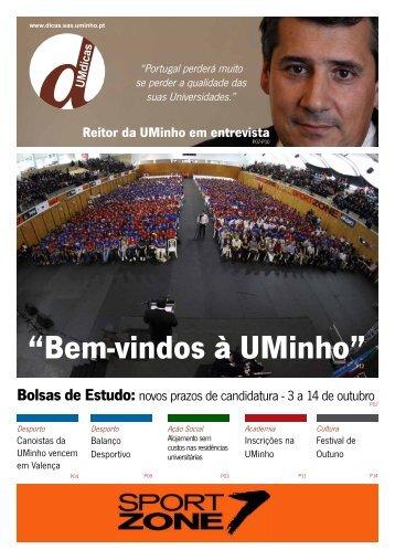 Jornal UMdicas nº95, de 4 de Outubro de 2011