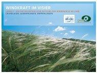 Umwelt- und Naturverträgliche Nutzung der ... - Windreich