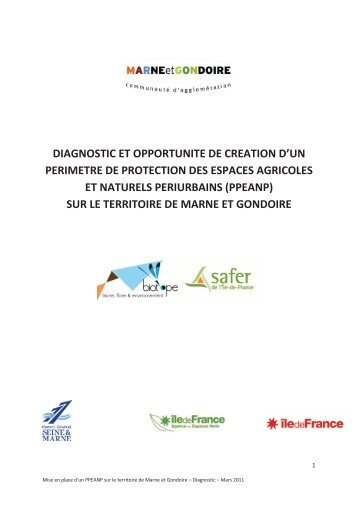 diagnostic et opportunite de creation d'un perimetre de protection ...