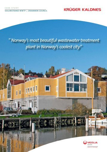 Solumstrand Wastewater Treatment Plant - AnoxKaldnes