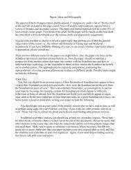 Papers - Department of Scandinavian Studies