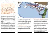 New opportuNities for buildiNg oN water - RDM Campus