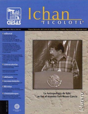1 FEBRERO 2004 - Ciesas