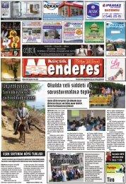 28 Nisan tarihli Küçükmenderes gazetesi
