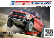 2011 Ford Raptor SVT Hausprospekt - GeigerCars.de