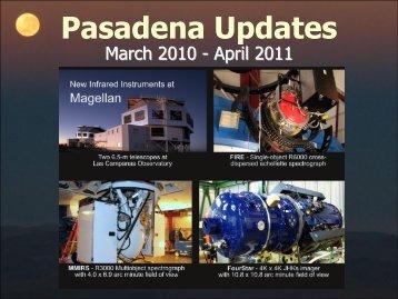 Pasadena - MagellanTech