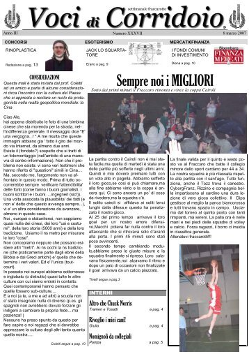 Numero 37 - Collegiofraccaro.it