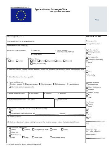 application-for-schengen-visa-ny-i-danmark Visa Application Form Belgium Emby on