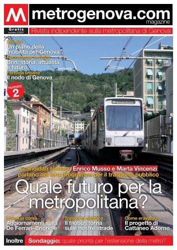 Quale futuro per la metropolitana? - Metrogenova.com
