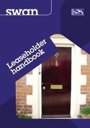 Leaseholder handbook - Swan Housing Association