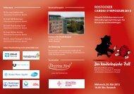 RostockeR caRDio syMposiUM2013 - pci.info
