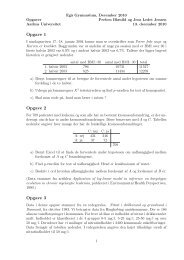 opgaver (pdf) - Aarhus Universitet