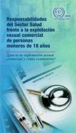 Responsabilidades del Sector Salud frente a la explotación sexual ...