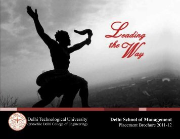 Delhi School of Management - Delhi College of Engineering