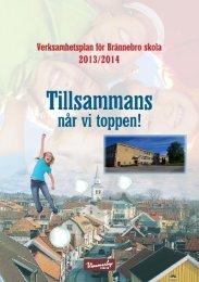 Verksamhetsplan (skola), 2013/14 (2,65 MB) - Vimmerby Kommun